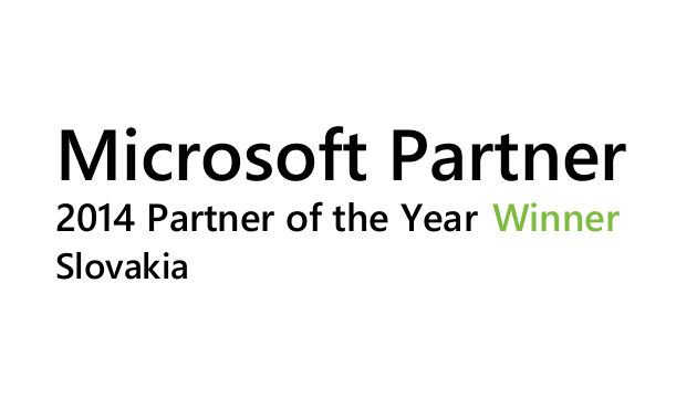 Millennium je Microsoft Partner of the Year 2014 for Slovakia!