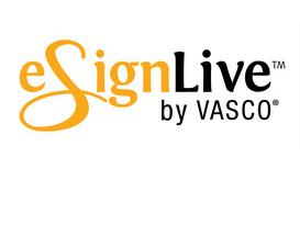 elektronický podpis od eSignLive by Vasco
