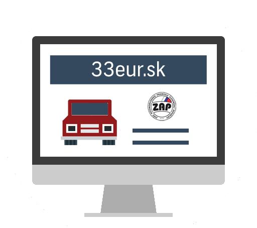 Portál 33eur.sk pre MV SR a ZAP SR