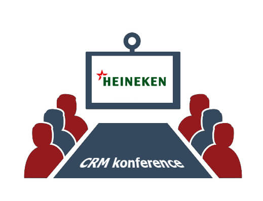 CRM konferencia v Prahe: Ako sme dodali CRM online spoločnosti Heineken