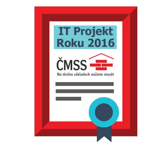 ČMSS ako víťaz súťaže IT Projekt Roka 2016