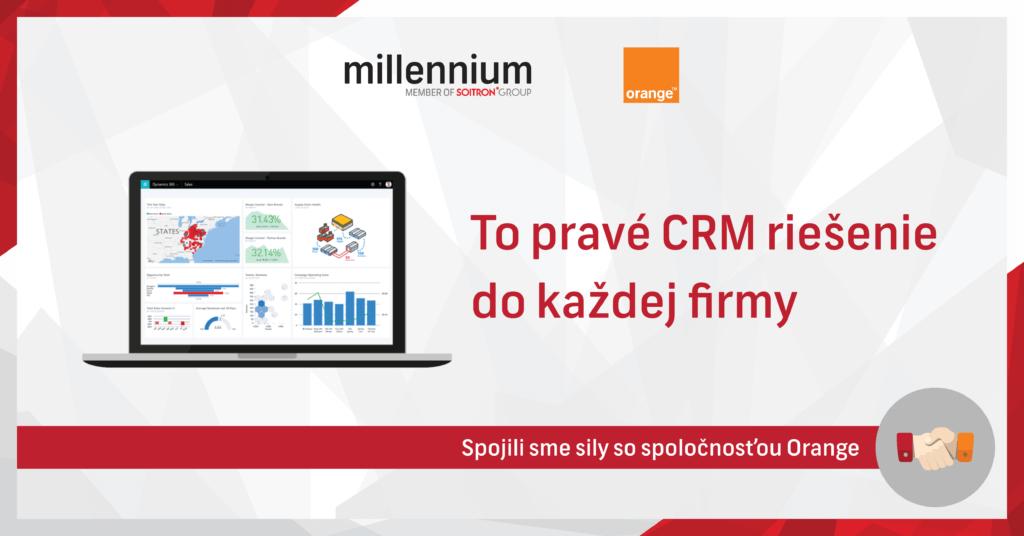 Spolupráca Orange a Millennium na implementácii CRM riešení