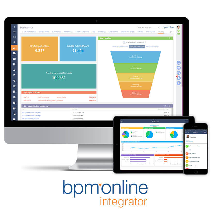 New partnership with bpm'online - Millennium
