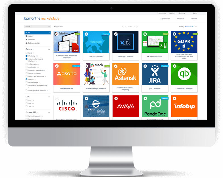 bpm'online business apps marketplace