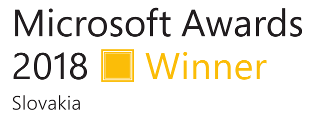 CRM for S Slovensko - Microsoft Awards 2018 Winner
